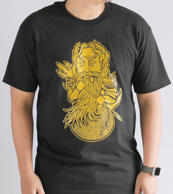 Hafaloha© King Triton T-Shirt  (Black)