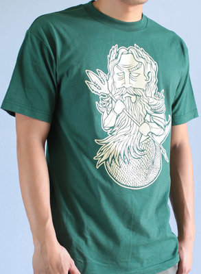 Hafaloha© King Triton T-Shirt (Green)