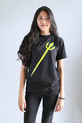 Hafaloha© Trident T-Shirt (Yellow on Black)