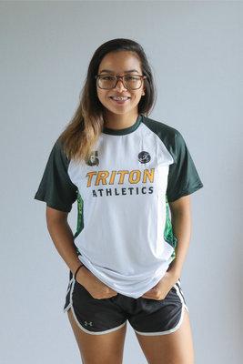 Run Guam Triton Athletics Short Sleeve Tee (White)