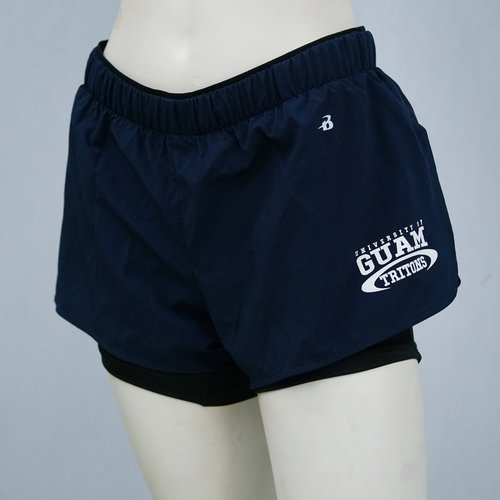 Badger Sportswear - Tritons Double Up Ladies Shorts
