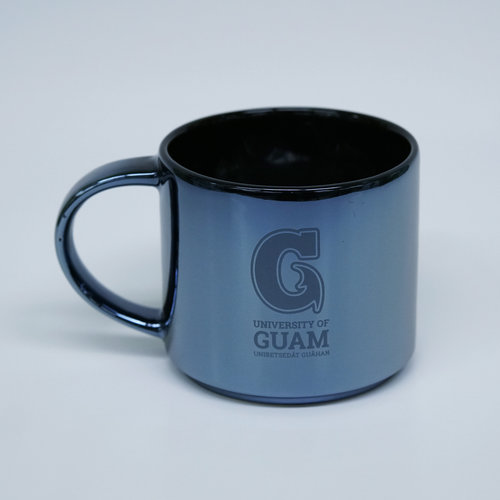 Ramsey Metallic Mug - Gunmetal Big G